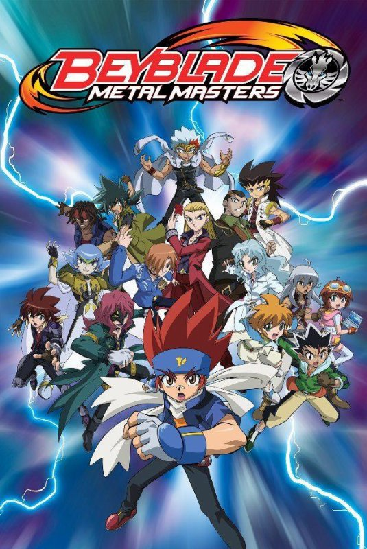 Beyblade: Metal Fusion Poster