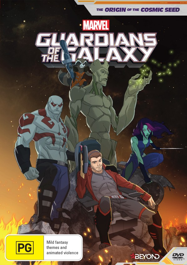 Guardians of The Galaxy Origins Poster